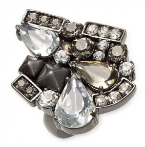 Juicy Couture Midnight Swag Ring